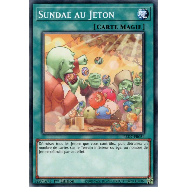 LED7-FR054 Sundae au Jeton