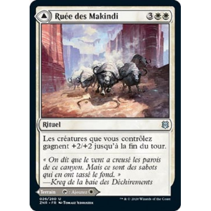 image ZNR_026/280 Ruée des Makindi // Mesas des Makindi