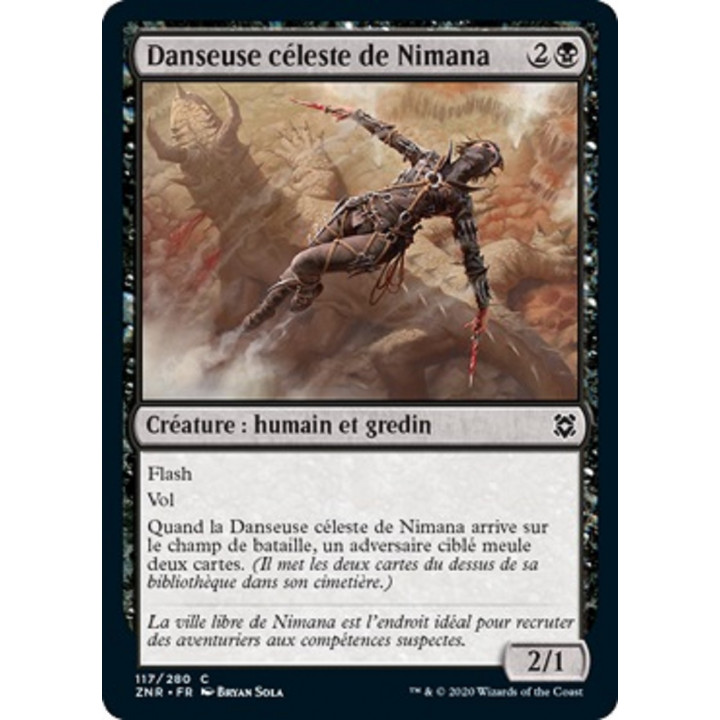 image ZNR_117/280 Danseuse Céleste de Nimana