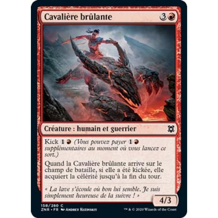 image ZNR_158/280 Cavalière brûlante