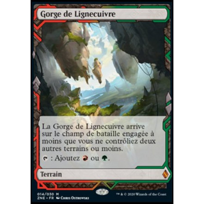 image ZNE_014/030 Gorge de Lignecuivre (Expedition)