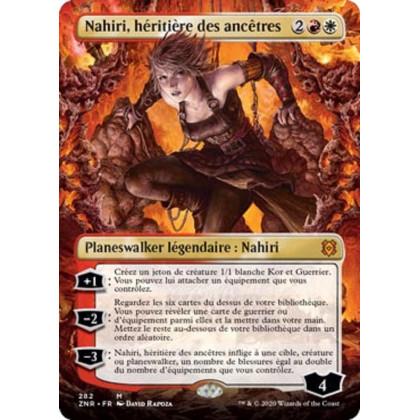 image ZNR_282/280 Nahiri, héritière des ancêtres (Borderless Planeswalker)
