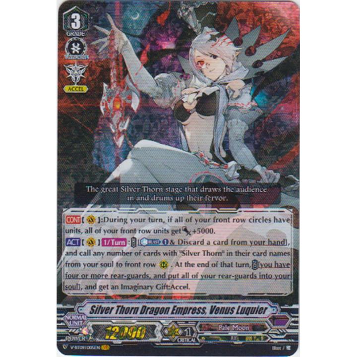 V-BT09/005 Silver Thorn Dragon Empress, Venus Luquier