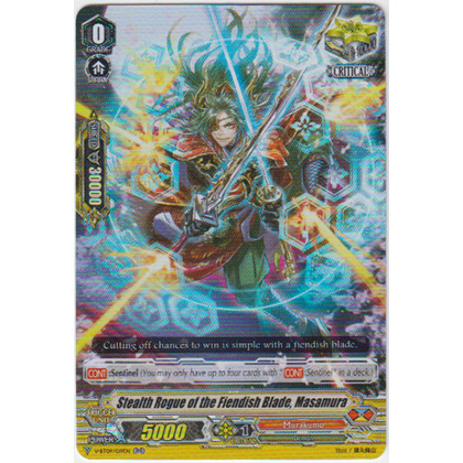 image V-BT09/019 Stealth Rogue of the Fiendish Blade, Masamura
