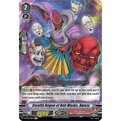 image V-BT09/031 Stealth Rogue of Noh Masks, Awazu