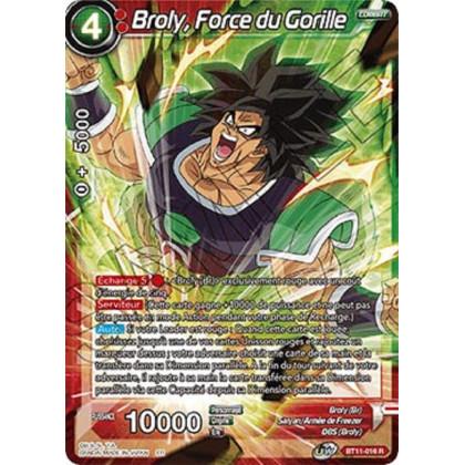 image BT11-016 Broly, Force du Gorille