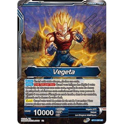 image BT11-032 Vegeta // Vegeta SS4, Évolution ultime
