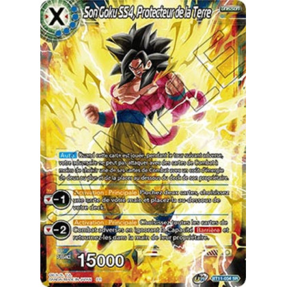 image BT11-034 Son Goku SS4, Protecteur de la Terre