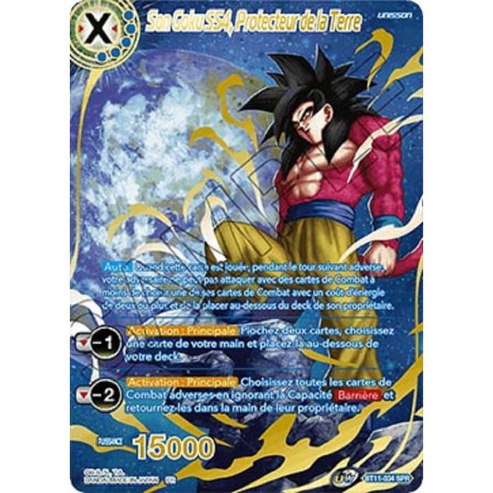image BT11-034SPR Son Goku SS4, Protecteur de la Terre