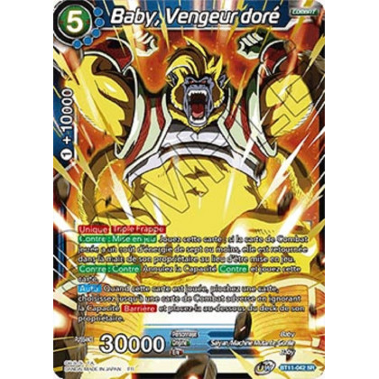 image BT11-042 Baby, Vengeur doré