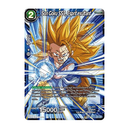 image BT11-050 Son Goku SS3, Esprit exultant