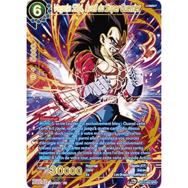 BT11-052SPR Vegeta SS4, Éveil du Super Guerrier