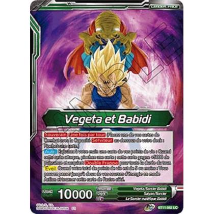 image BT11-062 Vegeta et Babidi // Babidi et le Prince de la Destruction Vegeta, Majins surpuissants