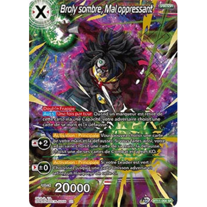image BT11-064 Broly sombre, Mal oppressant