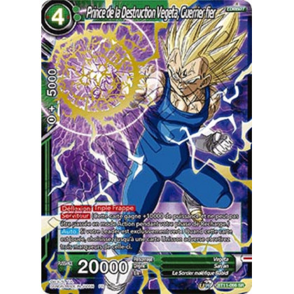 image BT11-066 Prince de la Destruction Vegeta, Guerrier fier