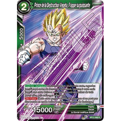image BT11-068 Prince de la Destruction Vegeta, Frappe surpuissante