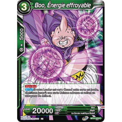 image BT11-070 Boo, Énergie effroyable