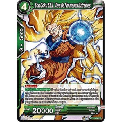 image BT11-074 Son Goku SS3, Vers de Nouveaux Extrêmes