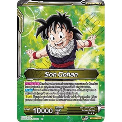 image BT11-091 Son Gohan // Son Gohan et Hire-Dragon, Amitié sans Bornes