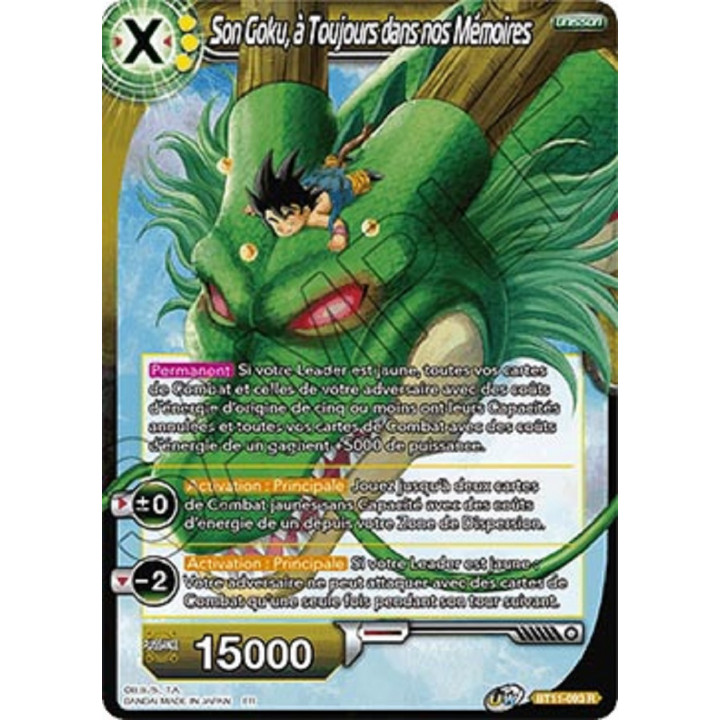 image BT11-093 Son Goku, à Toujours dans nos Mémoires
