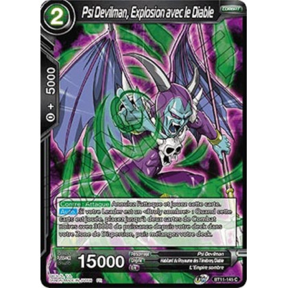 image BT11-145 Psi Devilman, Explosion avec le Diable