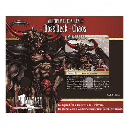 image Deck Multijoueurs Challenge Boss Chaos final fantasy