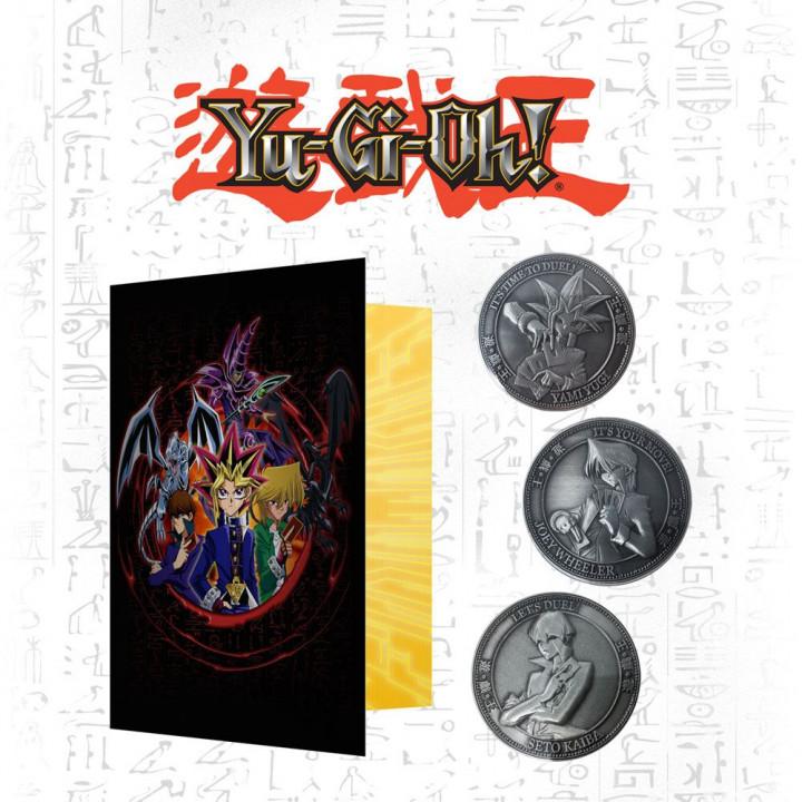 Yu-Gi-Oh! Album à Pièces avec 3 Pièces - Édition Limitée