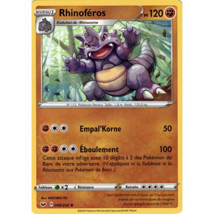 SWSH01_098/202 Rhinoféros