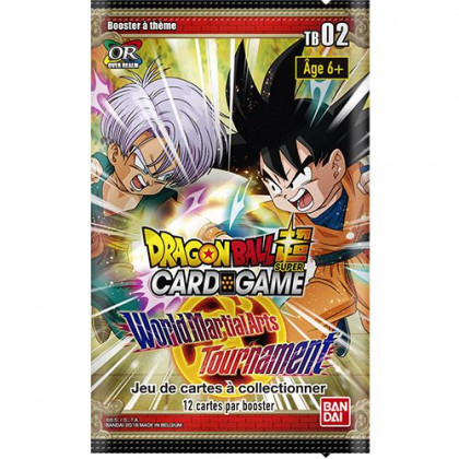 Dragon Ball Super - Bandai - Boosters en Français - Theme Boosters Serie 2 - TB02 - World Martial Arts Tournament