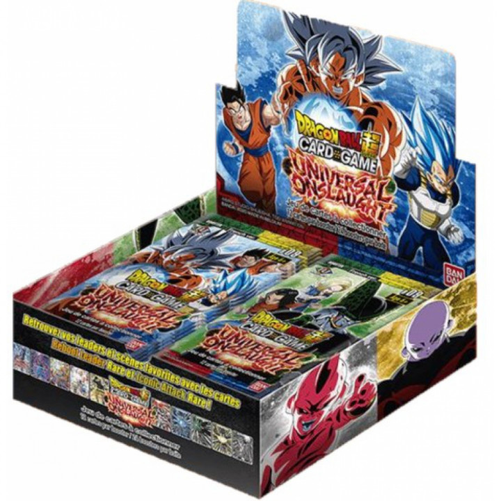 Boîte 24 Boosters Dragon Ball Super B09 : Universal Onslaught