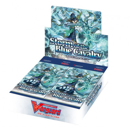 image Boite 16 Boosters V-BT11 Storm of the Blue Cavalry