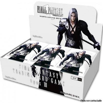 Boîte 36 Boosters Final Fantasy Opus III