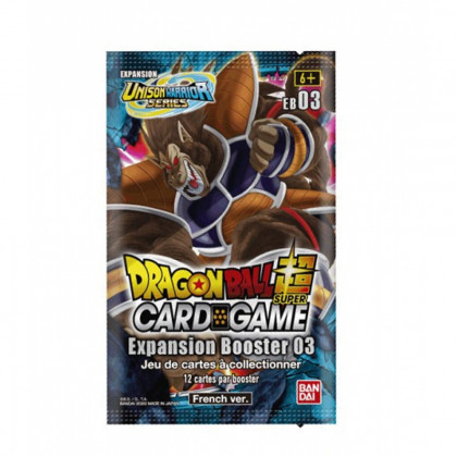 Booster Giant Force Expansion Booster 03 - Dragon Ball FR