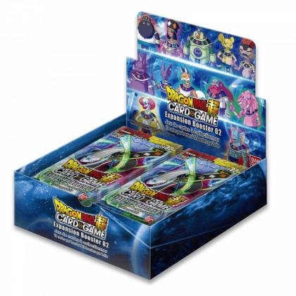 Dragon Ball Super - Bandai - Boites Boosters Français - Boite De 24 Boosters - EB02 - Expansion Boosters 02 Divine Multiverse