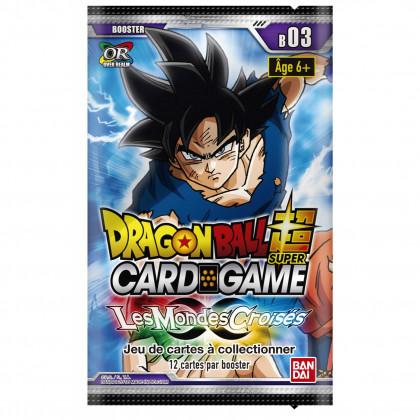 Dragon Ball Super - Bandai - Boosters en Français - Serie 3 - B03 - Les Mondes Croisés