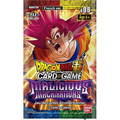 Dragon Ball Super - Bandai - Boosters en Français - Serie 8 - B08 - Malicious Machinations