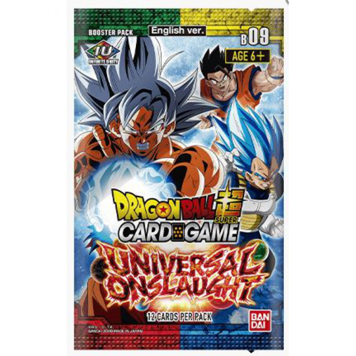 Dragon Ball Super - Bandai - Boosters en Français - Serie 9 - B09 - Universal Onslaught
