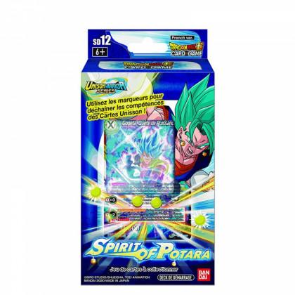 Dragon Ball Super - Decks Préconstruits - SD12 - Spirit of Potara