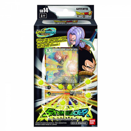 Dragon Ball Super - Decks Préconstruits - SD14 - Saiyan Wonder