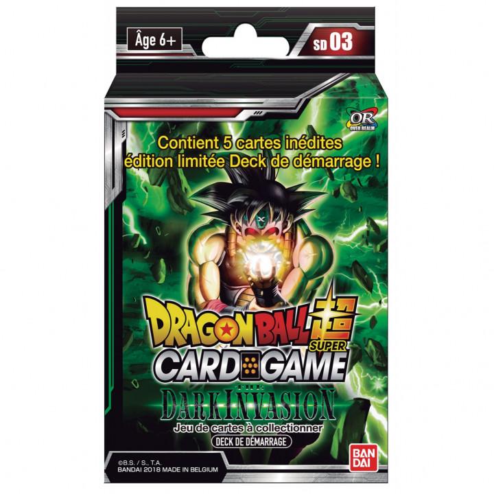 Starter Deck SD03 The Dark Invasion Dragon Ball FR