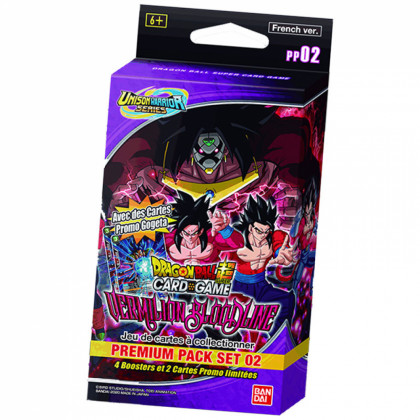 Dragon Ball Super - Packs Edition Spéciale - Serie 11 - PP02 - UW2 Vermilion Bloodline