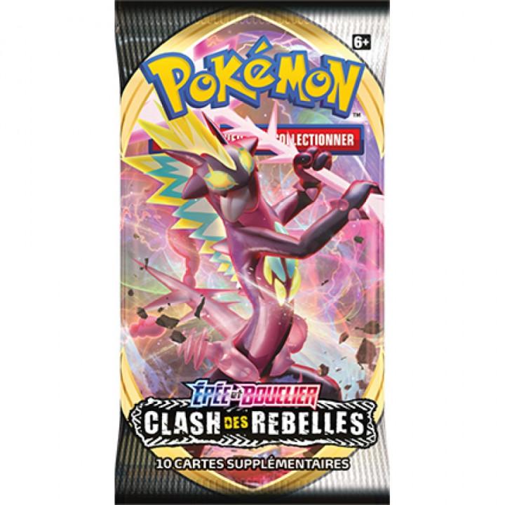 Booster Épée et Bouclier : Clash des Rebelles Pokémon