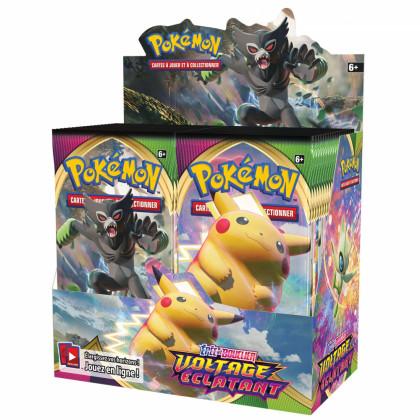 Pokémon - Boites Boosters Français - Boite De 36 Boosters EB04 - Epée et Bouclier 4 - Voltage Eclatant