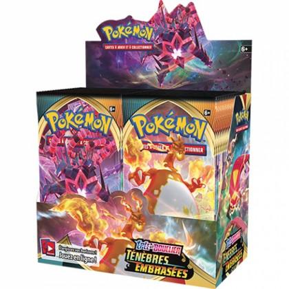 Pokémon - Boites Boosters Français - Boite De 36 Boosters EB03 - Epée et Bouclier 3 Ténèbres Embrasées