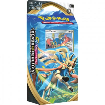 Pokémon - Decks Préconstruits - EB02 - Épée et Bouclier 2 Clash des Rebelles - Zacian