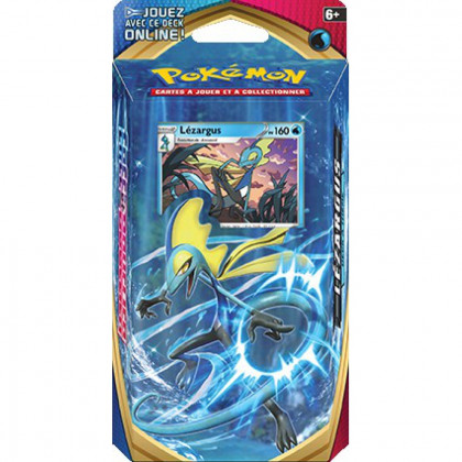 Deck à thème Pokémon Épée et Bouclier - Lézargus FR