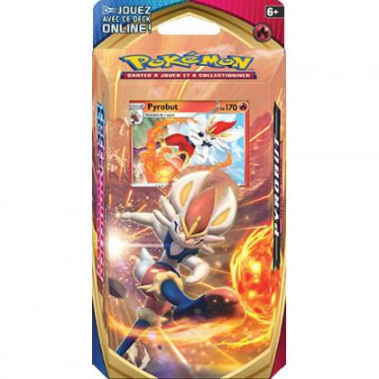 Deck à thème Pokémon Épée et Bouclier - Pyrobut FR