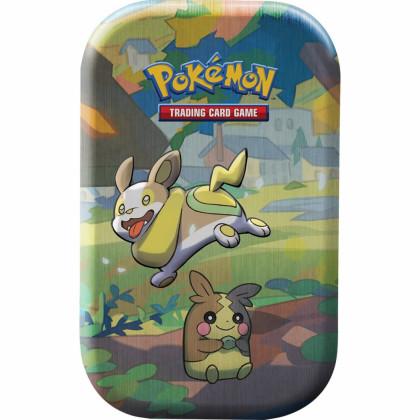 Pokémon - The Pokémon Company - Pokébox - Mini Tin Les Amis de Galar - Voltoutou & Morpeko