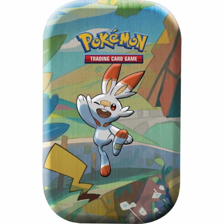 Mini Tin Les Amis de Galar Pokémon - Flambino & Pikachu