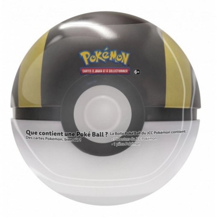 Pokémon - The Pokémon Company - Pokébox - Poké Ball Tin : Hyper Ball (3 boosters + 1 jeton)